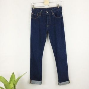 Levi's High waisted button fly Jeans 25